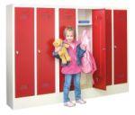 Schul -Garderobenschränke