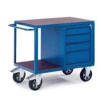 Schwerlast-Werkstattwagen mit Schubladenschrank 07-4308-S 1150x700mm; Tragkraft 1000kg  | günstig bestellen bei assistYourwork