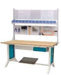 WORKLINE Systemarbeitsplatz 07.75.25A 1500x750x735-1100mm | günstig bestellen bei assistYourwork