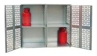 Gasflaschen-Depot GFD-L2, verzinkt für 20 11-kg-Gasflaschen | günstig bestellen bei assistYourwork