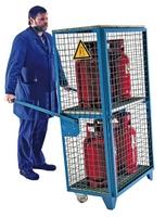 Gasflaschen-Depot GFD-R4, verzinkt für 4 11-kg-Gasflaschen | günstig bestellen bei assistYourwork