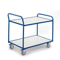 ESD Tischwagen mit 2 Etagen 08-7426ESD Ladefläche LxB 990 x 590 mm | günstig bestellen bei assistYourwork