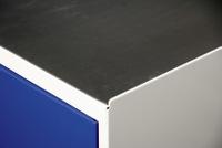 Zubehör Serie 3000, 3002050 Gummiriffel-Schrankauflage, HxBxT 3x990x495mm | günstig bestellen bei assistYourwork
