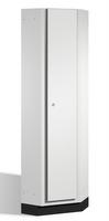 Eckschrank S 6000 CAMBIO, mit einer durchgehenden HPL-Dekortür | günstig bestellen bei assistYourwork