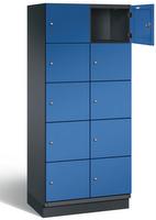 Fächerschrank S 6000 CAMBIO, 5 Fächer hoch, 5x2 Abteile á 400mm, Stahltüren einwandig | günstig bestellen bei assistYourwork