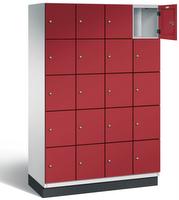 Fächerschrank S 6000 CAMBIO, 5 Fächer hoch, 5x4 Abteile á 300mm, Stahltüren einwandig | günstig bestellen bei assistYourwork