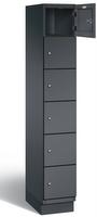 Fächerschrank S 6000 CAMBIO, 6 Fächer hoch, 6x1 Abteil á 300mm, Stahltüren einwandig | günstig bestellen bei assistYourwork
