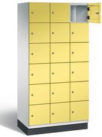 Fächerschrank S 6000 CAMBIO, 6 Fächer hoch, 6x3 Abteile á 300mm, Stahltüren einwandig   günstig bestellen bei assistYourwork