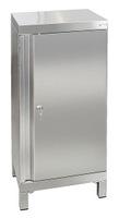 CABINOX Edelstahl-Schrank 470-021-10, mit Vierkantfüßen, HxBxT 1000x450x400mm | günstig bestellen bei assistYourwork