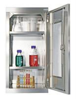 CABINOX Hänge-Edelstahlschrank mit Sichtfenster 470-010-11, HxBxT 900x450x400mm | günstig bestellen bei assistYourwork