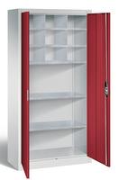 Materialschrank oben mit 9 verstellbaren Fächern, HxBxT 1950 x 930 x 400 mm | günstig bestellen bei assistYourwork