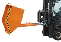 Kippmulde KK 1000 kastenförmig, lackiert, Inhalt ca. 1000l | günstig bestellen bei assistYourwork