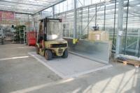 Diesel-Abfüllplatz KPS 1 mit Spritzschutzwand Auffangvolumen 166 l | günstig bestellen bei assistYourwork