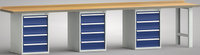 Werkbank-Standard 4000 mm, G552-4000-0804, 3 x 4 Schubladen | günstig bestellen bei assistYourwork