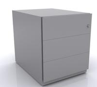 Rollcontainer mit Griffleiste NWA79M7SSS 495x420x775mm | günstig bestellen bei assistYourwork