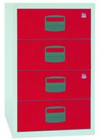 Beistellschrank PFA4S 4 Universal-Schubladen, HxBxT 672x413x400mm   günstig bestellen bei assistYourwork