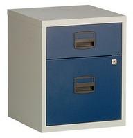 Mobiler Beistellschrank PFAM1S1F 2 Schubladen, HxBxT 528x413x400mm | günstig bestellen bei assistYourwork
