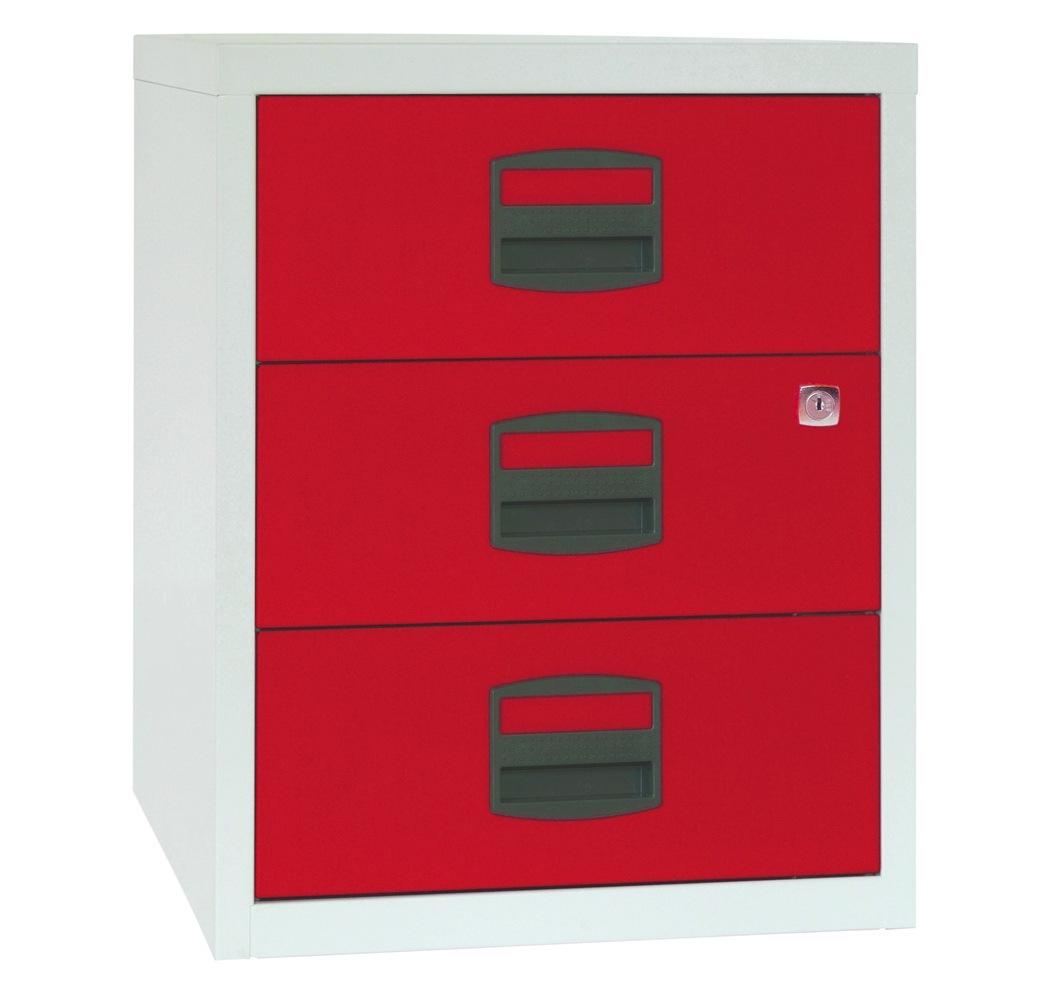 Mobiler Beistellschrank PFAM3S 3 Universal-Schubladen, HxBxT 528x413x400mm | günstig bestellen bei assistYourwork