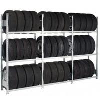 Schulte Reifenregal Grundfeld 13820, HxBxT 2000x900x400mm, 3 Ebenen | günstig bestellen bei assistYourwork