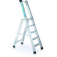 Genietete Stufen-Stehleiter 40494, 4 Stufen, einseitig begehbar, Modell Seventec RC S | günstig bestellen bei assistYourwork