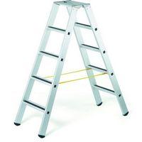 Zarges Stufen-Stehleiter R13step B 41551, 2 x 4 Stufen, gebördelt  | günstig bestellen bei assistYourwork