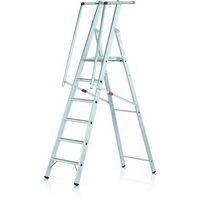 Stufen-Plattformleiter 41675, gebördelt 5 Stufen, Modell ZAP Safemaster S | günstig bestellen bei assistYourwork