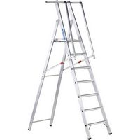 Stufen-Plattformleiter 41678, gebördelt 8 Stufen, Modell ZAP Safemaster S | günstig bestellen bei assistYourwork