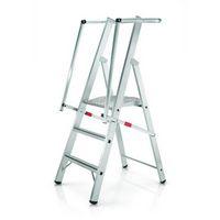 Stufen-Plattformleiter 41681, gebördelt 3 Stufen, Modell ZAP Safemaster S   günstig bestellen bei assistYourwork
