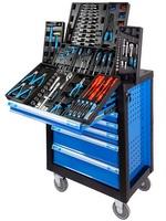 Werkstattwagen RAPTOR, 7 Schubladen, mit 262-teiligen Werkzeugsatz | günstig bestellen bei assistYourwork