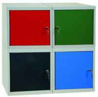 Schließfach-Würfelbox mit Sichtscheibe 400x400x400mm | günstig bestellen bei assistYourwork