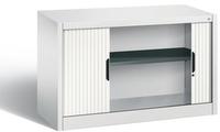 Omnispace Beistellschrank mit Rollladen 3253-00 720x1200x420mm, 1 Ordnerhöhe + Restfach  | günstig bestellen bei assistYourwork