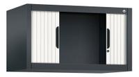 Omnispace Aufsatzschrank mit Rollladen 3261-00 450x800x420mm, 1 Ordnerhöhe   | günstig bestellen bei assistYourwork
