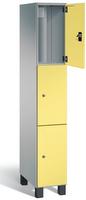 Spind S 7000 Prefino - 3 Fächer übereinander, 3x1 Abteil á 300mm, mit Stahltüren | günstig bestellen bei assistYourwork
