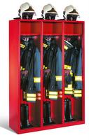 Evolo Feuerwehrschrank 48015-321 3 Abteile á 400mm, ohne Wertfach | günstig bestellen bei assistYourwork