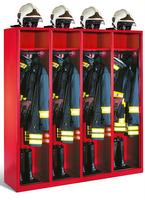 Evolo Feuerwehrschrank 48015-421 4 Abteile á 400mm, ohne Wertfach | günstig bestellen bei assistYourwork