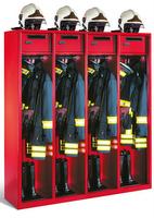 Evolo Feuerwehrschrank 48115-42 4 Abteile á 400mm, mit Wertfach   günstig bestellen bei assistYourwork