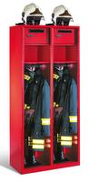 Evolo Feuerwehrschrank 48015-22 2 Abteile á 400mm, mit Wertfach und Zusatzfach | günstig bestellen bei assistYourwork