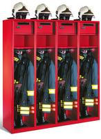 Evolo Feuerwehrschrank 48015-42 4 Abteile á 400mm, mit Wertfach und Zusatzfach | günstig bestellen bei assistYourwork