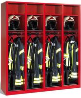 Evolo Feuerwehrschrank 48215-421 4 Abteile á 400mm, ohne Wertfach | günstig bestellen bei assistYourwork