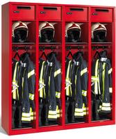 Evolo Feuerwehrschrank 48215-32 3 Abteile á 400mm, mit Wertfach | günstig bestellen bei assistYourwork