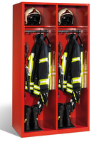 Evolo Feuerwehrschrank 1-100439 2 Abteile á 500mm, mit Füße, ohne Wertfach | günstig bestellen bei assistYourwork