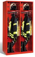 Evolo Feuerwehrschrank 1-100442 2 Abteile á 500mm, mit Füße, mit Wertfach | günstig bestellen bei assistYourwork