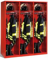 Evolo Feuerwehrschrank 48215-321 3 Abteile á 400mm, ohne Wertfach | günstig bestellen bei assistYourwork