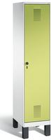 Garderobenschrank Evolo 49010-12 1 Abteil mit Stahltür á 400 mm, Füße | günstig bestellen bei assistYourwork