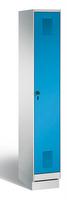 Garderobenschrank Evolo 49020-10, 1 Abteil mit Stahltür á 300 mm, auf Sockel   günstig bestellen bei assistYourwork