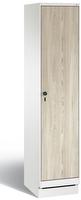 Garderobenschrank Evolo 49020-12, 1 Abteil mit Stahltür á 400 mm, auf Sockel | günstig bestellen bei assistYourwork