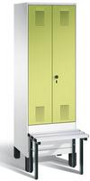 Evolo Garderobenspind 49032-20, 2 Abteile für 1 Person, Abteilbreite 300 mm | günstig bestellen bei assistYourwork