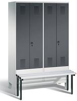 Evolo Garderobenspind 49032-40,  Abteilbreite 300 mm, je 2 Abteile für 2 Personen | günstig bestellen bei assistYourwork
