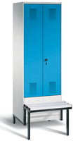 Evolo Garderobenspind 49042-20, 2 Abteile für 1 Person, Abteilbreite 300 mm | günstig bestellen bei assistYourwork