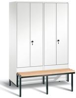 Evolo Garderobenspind 49042-40,  Abteilbreite 300 mm je 2 Abteile für 2 Personen   günstig bestellen bei assistYourwork